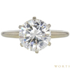 1.04 ct. Round Cut Solitaire Ring, I, SI2 #1