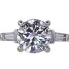 2.03 ct. Round Cut 3 Stone Ring #1