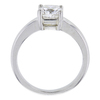 1.71 ct. Cushion Cut Bridal Set Ring, H, SI1 #3
