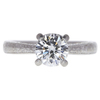 1.34 ct. Round Cut Solitaire Ring, H, SI2 #3