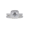1.15 ct. Cushion Cut Bridal Set Tiffany & Co. Ring, E, VVS2 #2