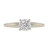 0.51 ct. Round Cut Solitaire Ring, D, VVS2 #3