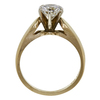 0.92 ct. Round Cut Solitaire Ring, G, SI2 #4