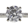 1.08 ct. Round Cut Solitaire Ring, E, SI2 #4