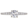 0.72 ct. Round Cut Solitaire Ring, G, SI2 #3