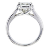 1.58 ct. Princess Cut Bridal Set Ring, G, SI1 #2