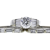 1.56 ct. Round Cut Bridal Set Ring, J, SI2 #4