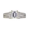 1.03 ct. Emerald Cut Ring, E, VS2 #3