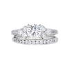 0.78 ct. Round Cut Bridal Set Ring, I, SI1 #3