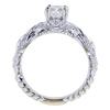 0.70 ct. Cushion Cut Solitaire Ring, H, VS2 #3