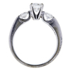 0.72 ct. Round Cut Solitaire Ring, G, SI1 #1