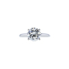 2.01 ct. Round Cut Solitaire Ring, J, SI2 #3