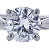 1.10 ct. Round Cut Solitaire Ring, F-G, I1-I2 #1