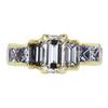 1.50 ct. Emerald Cut 3 Stone Ring #3