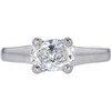 1.04 ct. Oval Cut Solitaire Ring, H, VS2 #3