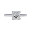 1.51 ct. Princess Cut Solitaire Ring, G, I2 #3