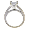1.40 ct. Princess Cut Solitaire Ring, G, I1 #3