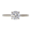 0.93 ct. Round Cut Solitaire Ring, J-K, I1 #2