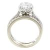 1.51 ct. Round Cut Bridal Set Ring, G, I1 #4