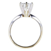 1.37 ct. Round Cut Solitaire Ring, G, SI2 #1