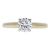 0.73 ct. Round Cut Solitaire Ring, G, VVS2 #3