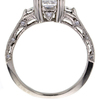 1.56 ct. Princess Cut 3 Stone Ring #4