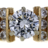1.55 ct. Round Cut Central Cluster Ring #2