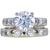 2.12 ct. Round Cut Bridal Set Ring, I, SI2 #1