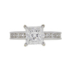1.51 ct. Princess Cut Solitaire Ring, F, VS2 #3