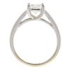 0.97 ct. Princess Cut Solitaire Ring, F, VS2 #4