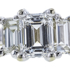 0.90 ct. Emerald Cut 3 Stone Ring, E, VS1 #4