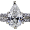 1.24 ct. Pear Cut Solitaire Ring #4