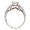 1.2 ct. Radiant Cut Bridal Set Ring, H, SI1 #4