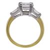 1.41 ct. Princess Cut Bridal Set Ring, J, VS2 #3