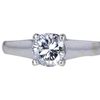 1.05 ct. Round Cut Solitaire Ring, G, SI2 #3