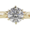 0.7 ct. Round Cut Solitaire Ring, I, VS1 #4