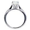1.10 ct. Round Cut Solitaire Ring, J, VS2 #2