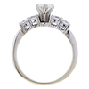 0.53 ct. Round Cut Bridal Set Ring, G, VVS2 #2