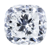 3.05 ct. Cushion Cut 3 Stone Ring, G, SI2 #1