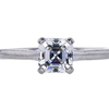 0.77 ct. Asscher Cut Solitaire Tiffany & Co. Ring, E, VVS1 #4