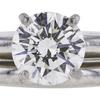 1.00 ct. Round Cut Bridal Set Ring, J, SI2 #1