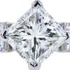 1.74 ct. Princess Cut Bridal Set Ring, H, VS2 #4