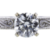 0.83 ct. Round Cut Bridal Set Ring, G, SI2 #1