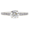0.9 ct. Round Cut Solitaire Ring, J, SI1 #3
