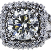 2.53 ct. Round Cut Halo Ring, L, VS1 #2
