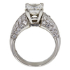 2.1 ct. Princess Cut Solitaire Ring, I, SI2 #4