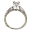 0.92 ct. Princess Cut Bridal Set Ring, I, SI2 #3