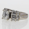 1.5 ct. Emerald Cut Solitaire Ring #2