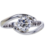 0.80 ct. Round Cut Solitaire Ring, E, SI1 #3