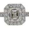 .90 ct. Emerald Cut Bridal Set Ring #2